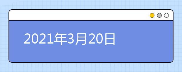 2021年3月20日雅思考试回顾